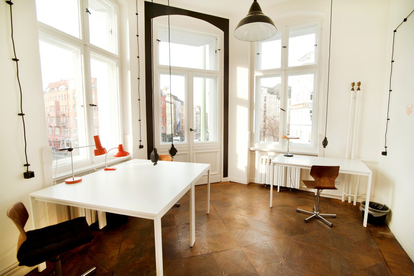 St Oberholz coworking space