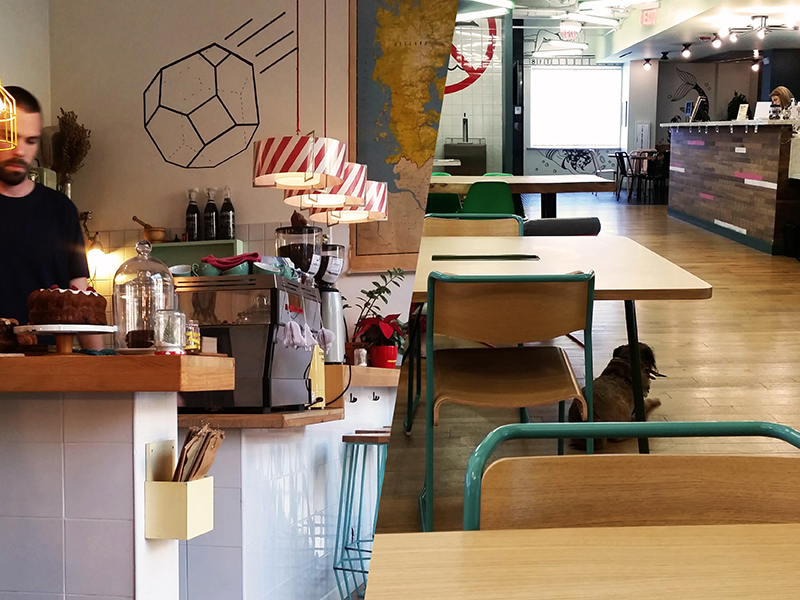 Co-working vs Coffeeshops